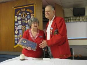 Sandy Meskys honored