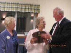 Pat Strickland award