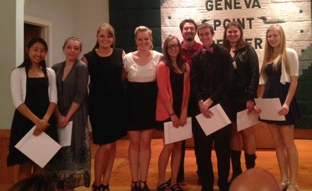 Moultonborough Academy Scholarship Recipients