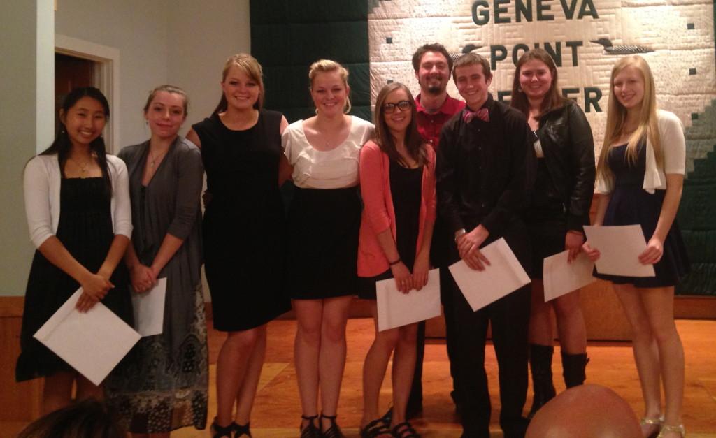 Moultonborough Academy Scholarship Recipients